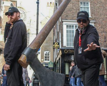 Giant Axe Heralds the Return of the Vikings