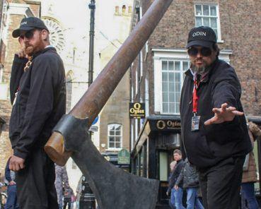 Giant Axe Heralds the Return of the Vikings