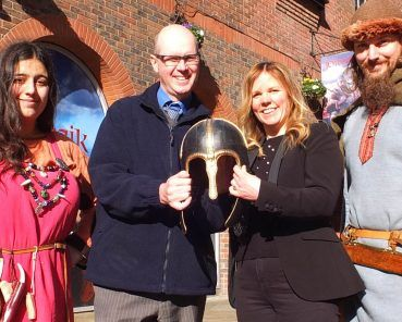 York Helmet Returns to Coppergate