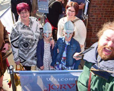 """Thank Freyr!"" – Viking Weather God Brings the Sunshine for the Re-opening of JORVIK Viking Centre"