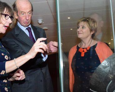 The Duke of Kent KG Discovers the Return of the Vikings at Re-Imagined JORVIK Experience