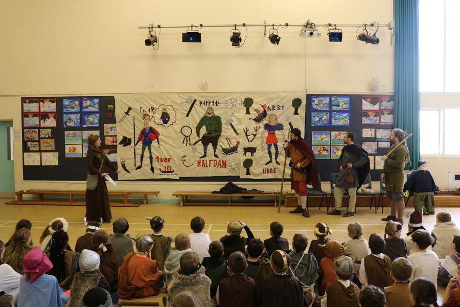 JORVIK Vikings at school project