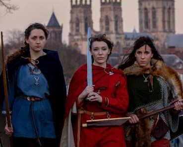 Forget The Handmaiden's Tale – Shield Maidens arrive in York to tell their story at JORVIK Viking Festival