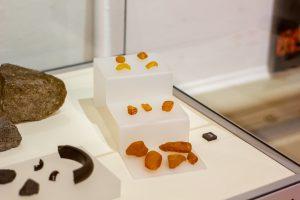 Viking amber on display